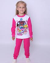 Детские пижамы для девочек Лол. Украина.   92-134 рост.