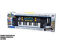 Синтезатор 8814A , микрофон в комплекте, запись и воспроизведение песен