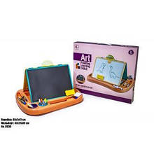 Детский набор для рисования  предметов в удобном кейсе с ручкой + Мольберт