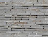 Катаный (галтованый)песчаник Леополис  серый