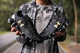 🔥 Кроссовки мужские спортивные повседневные Under Armour Scorpio черные андер армоур, фото 2
