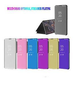 Чехол Mirror для Huawei Y5P книжка Зеркальная (разные цвета)