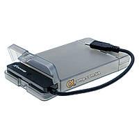 """Внешний карман HDD/SSD 2.5"""" USB 3.1 Grand-X Type-C (HDE31)"""