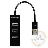 Хаб USB 2.0 Grand-X Travel 4 порта (GH-403)
