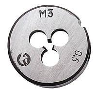Плашка для нарезания резьбы М5 х 0,8 мм Intertool SD-8214