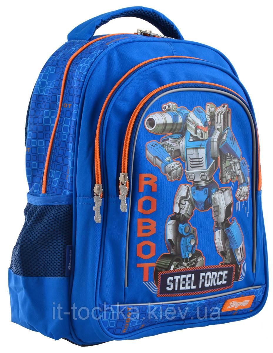 Рюкзак школьный 1 Вересня s-22 steel force 1 Вересня 556345