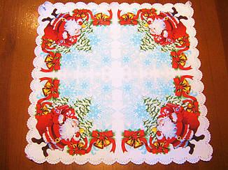 Салфетка Новый год ткань