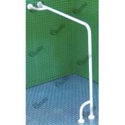 Опоры на стену и пол в ванную и туалет для инвалидов 900×900 ОТ-5.1.4.33  НТ-09-028