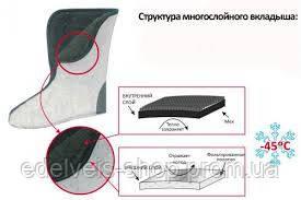 САПОГИ -45ºC МУЖСКИЕ ИЗ ЭВА ПЕ-15 УММ (NORDMAN CLASSIC) (ПСКОВ-ПОЛИМЕР), фото 2