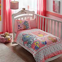 Детское постельное белье в кроватку TAC  DISNEY TOM & JERRY BABY GIRL
