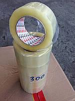 Скотч упаковочный прозрачный 45мм*45мкм*300м(реальная намотка 130м)
