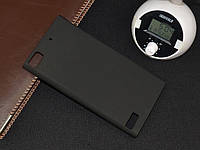 Чехол накладка бампер для BlackBerry Z3 чёрный