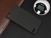 Чохол накладка на бампер для BlackBerry Z3 чорний, фото 1