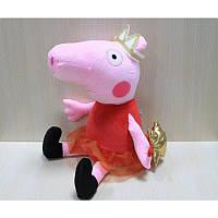 "Свинка-принцесса ""Пеппи"", 40см"