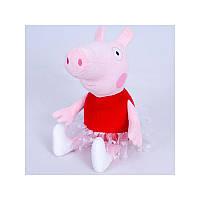 """Свинка-балерина """"Пеппи"""", 26см"""
