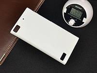 Чохол накладка на бампер для BlackBerry Z3 білий, фото 1