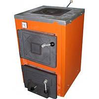 Твердотопливный котел ТермоБар АКТВ-12 с плитой