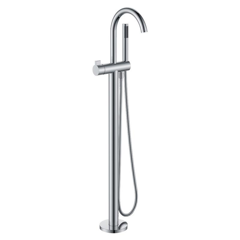 Смеситель для ванны напольный Volle 12-33-100 хром
