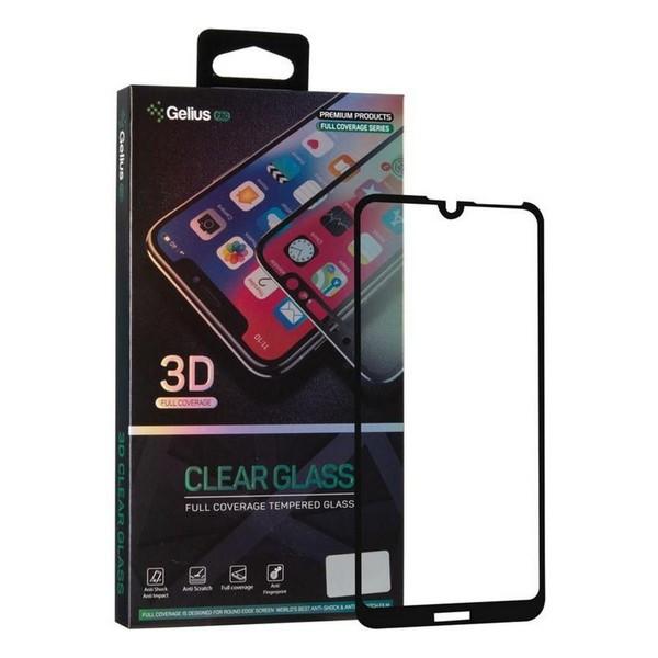 Захисне скло Huawei Y7 Pro 2019 3D Pro (чорне) Gelius