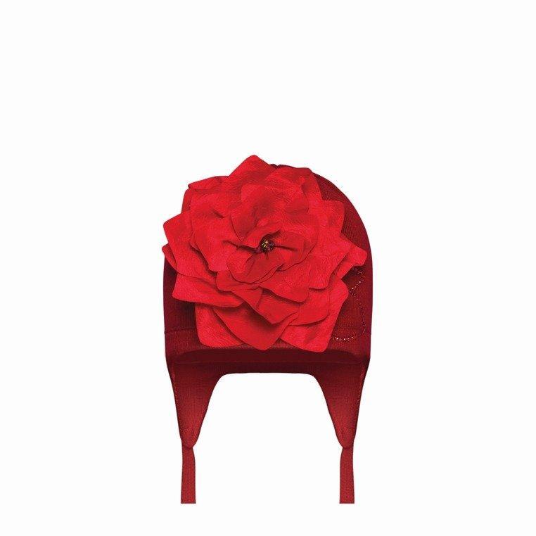 Детская шапка для девочки Одежда для девочек 0-2 BARBARAS Польша NB316/C Розовый