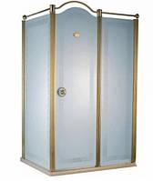 Душевая кабина с золотым профилем Devit Charlestone FEN2012MR (правая), 1200х800х1900 мм