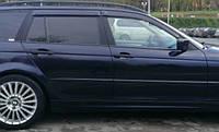 Ветровики БМВ 3   Дефлекторы окон BMW 3 Wagon (E46) 1998-2005