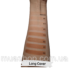 Тональный крем Long Cover Fluid (Alabaster) PAESE, 30 мл, фото 3