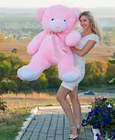 Мишка плюшевый Томас  розовый 150 см