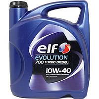 Масло моторное ELF 10W40D -5L Evol 700 Turbo Diesel