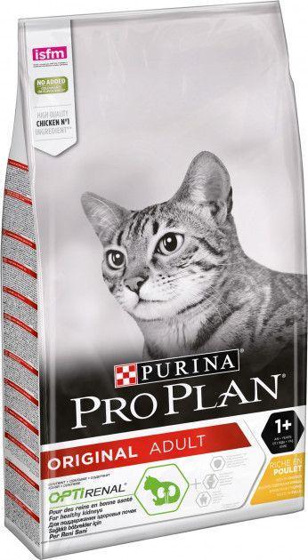 Сухой корм для кошек Purina Pro Plan Original с курицей 10 кг - Уточняйте наличие