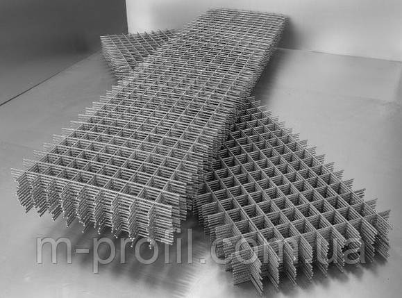 Сетка кладочная (армопояс) 100*100*3,0 (ш.0,38м*в.2м), фото 2