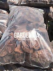 Кора соснова GARDEN, 50л, Фр.4 (5-8см) галька, фото 2