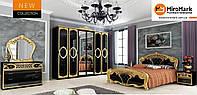 Спальня Реджина глянець чорний 4Д, фото 1
