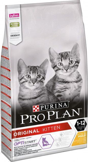 Сухой корм для кошек Purina Pro Plan Original Kitten с курицей 10 кг - Уточняйте наличие