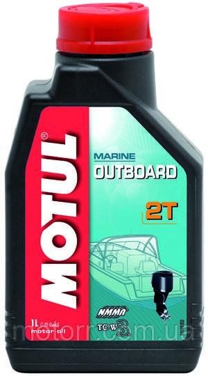 Масло для підвісних човнових двигунів Motul OUTBOARD 2T (1L)