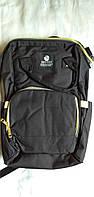 Сумка-рюкзак для мам Mummy Bag ,мультифункциональный органайзер для мамы Черный