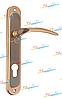Дверная ручка YUTL Айлар сатин-альбрюфин