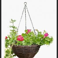 Подвесные горшки для цветов (в наборе 3 штуки)