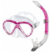 Набор Mares Marea (маска+трубка) (Розовый)