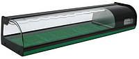 Витрина холодильная настольная  суши-кейс ВХСв-1,5 CARBOMA Полюс (Россия)