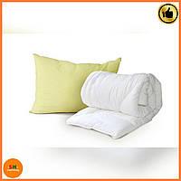 Одеяло детское Luxbaby Classic белое 110х140cм + подушка 40х60 см в подарок