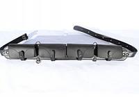 Патронташ на 24 патрона закрытый кожа-спилок черный