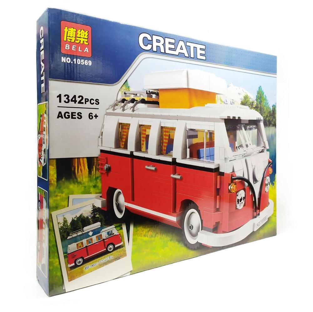 """Конструктор Create """"Автобус фольксваген"""" 10569"""