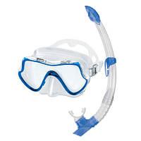 Набор Mares Pure Vision (маска+трубка) (Синий)