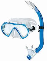 Набор Mares Seahorse (маска+трубка) (Синий)