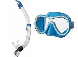 Набір (маска, трубка) Seac Giglio Fast Tech (Синій)