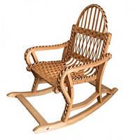 Кресло качалка плетеное для детей
