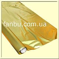 Полисилк на разрез,светло золотой ( 1 лист 0.5м*1м)