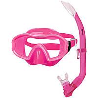 Набор MARES BLENNY (маска+трубка) (Розовый)