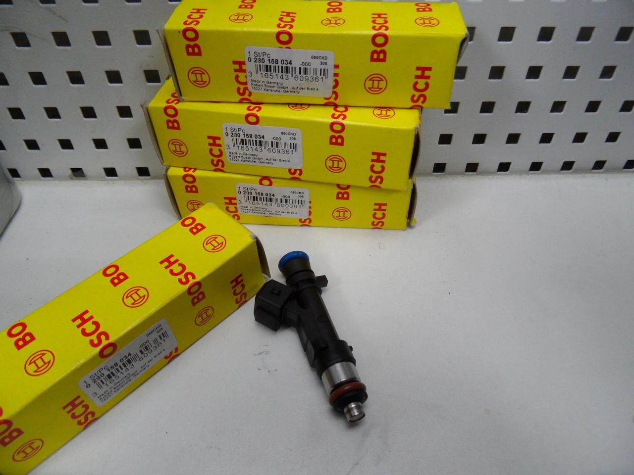 Бензинові Форсунки Bosch, 0280158034, 0 280 158 034, Logan 1.4/1.6